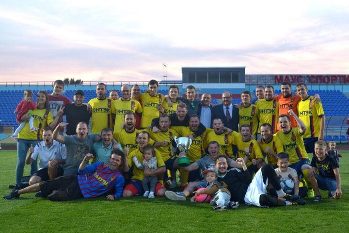 «Строитель» выиграл Кубок Наро-Фоминского округа по футболу