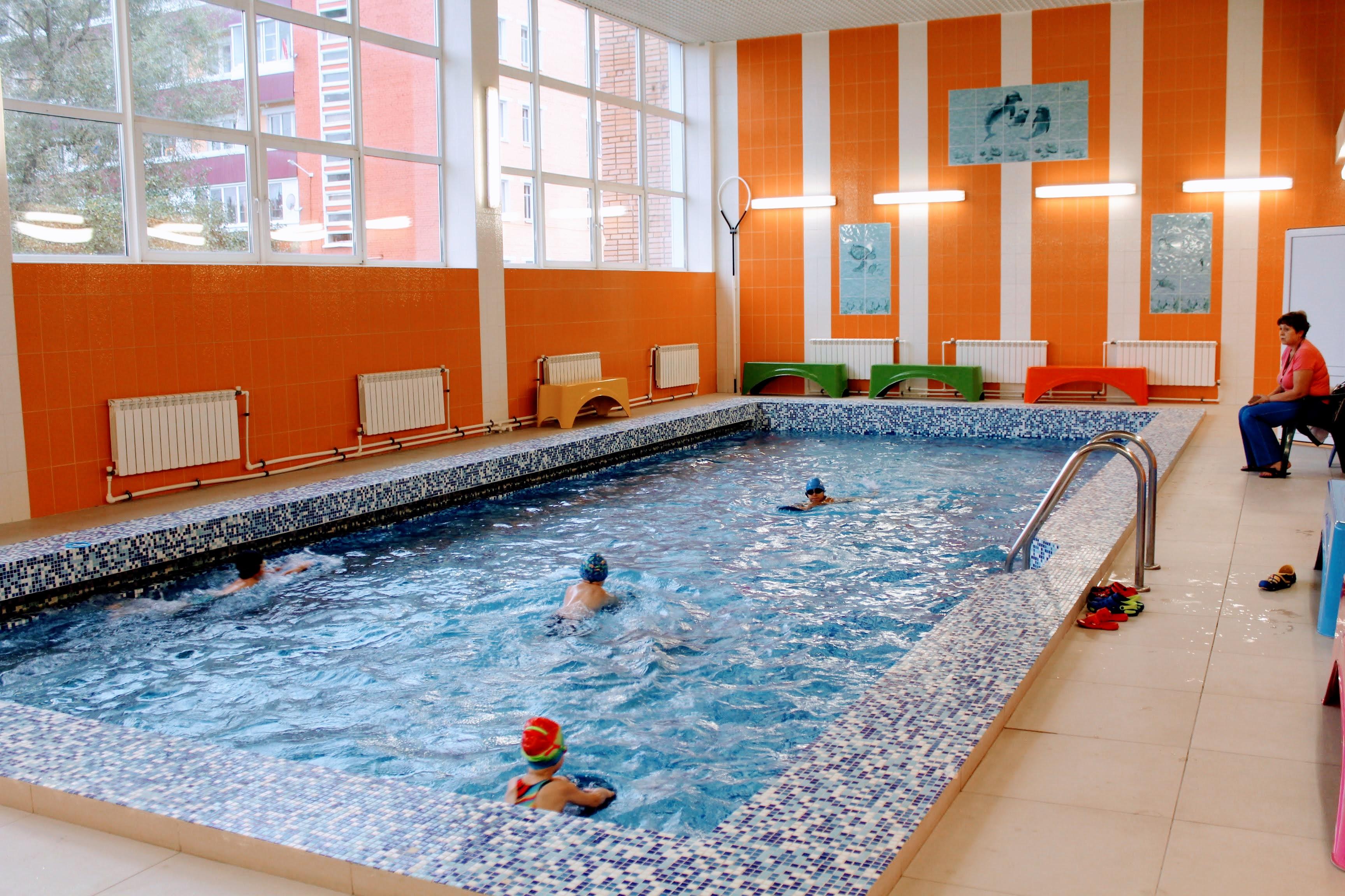 Спортивно-оздоровительные группы малый бассейн