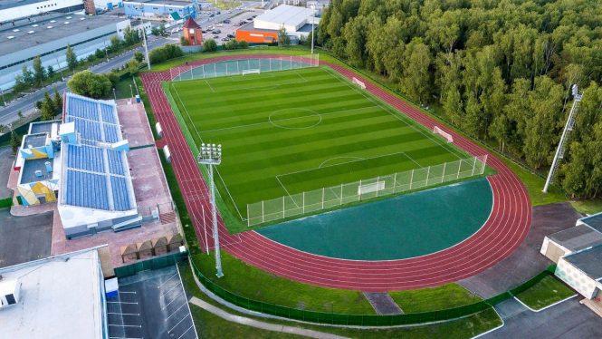 Открытая тренировка сборной Туниса в Селятино