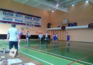 Открытое Первенство Наро-Фоминского городского округа по баскетболу.