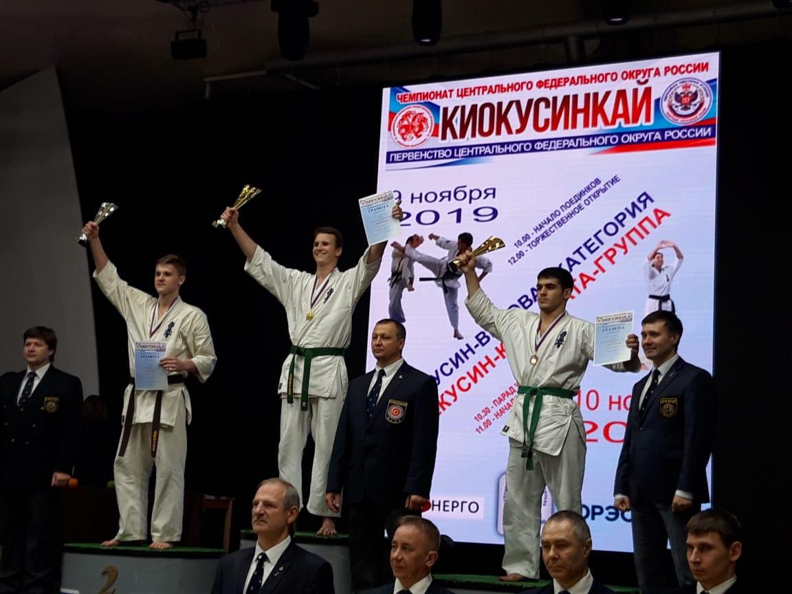Поздравляем спортсменов секции каратэ!