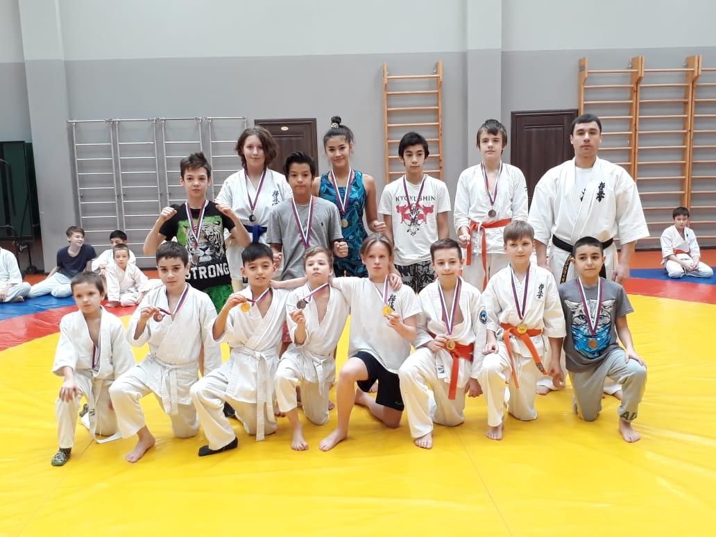 Соревнования секции каратэ