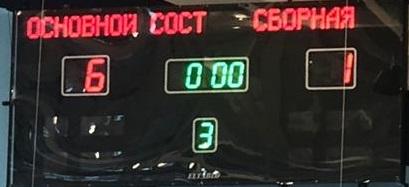 Матч закончился победой команды «Основной Состав» со счётом 6:1